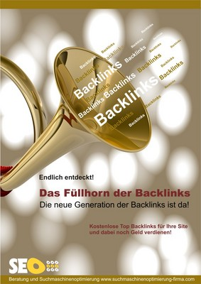 Pay for Das Füllhorn an kostenlosen Backlinks