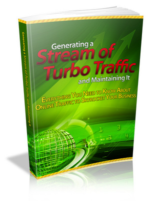 Pay for Generating a Stream of Turbo Traffic and Maintaining It -MRR