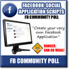 Thumbnail Facebook Community Polls - Viral Facebook Turnkey APP Script