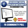 Thumbnail Facebook Community Polls - Viral Facebook Turnkey APP Script