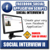 Thumbnail Facebook Social Interview II - Viral Facebook Application