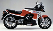 Thumbnail 1984 Kawasaki GPZ 900R (ZX900A1) Motorcycle Workshop Service Manual in German