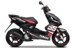 Thumbnail Yamaha YQ50 Aerox Scooter Workshop Service Manual 2007 (Searchable, Printable, Bookmarked, iPad-ready PDF)
