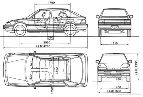 1990-1994 Honda Concerto Workshop Service Manual