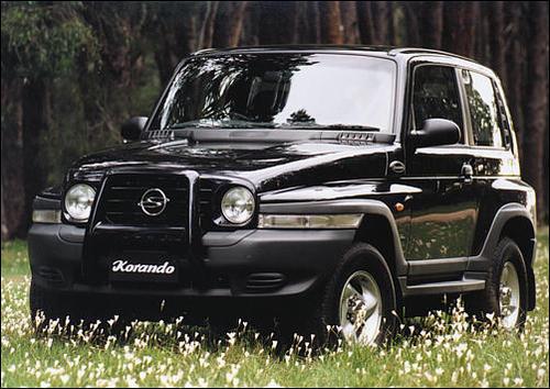 1997 2000 daewoo korando workshop repair service manual best downlo. Black Bedroom Furniture Sets. Home Design Ideas