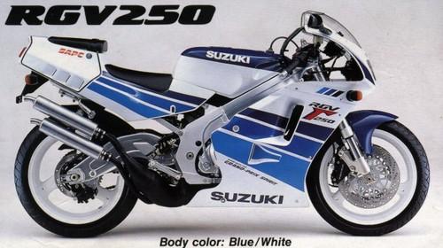 Suzuki Rgv  Workshop Manual