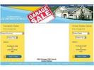 Thumbnail Garage Sale Blue Yellow