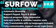 Thumbnail Surfow v4.0.1 - Traffic Exchange System