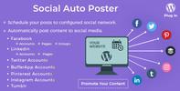 Thumbnail Social Auto Poster v3.5.0 - wordpress plugin