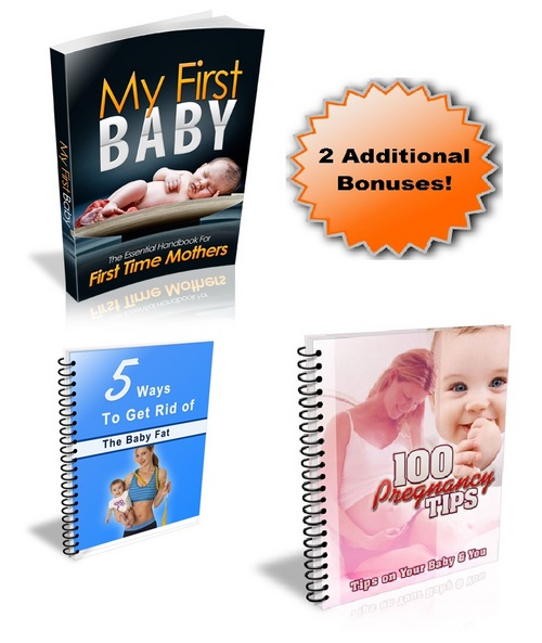 Pay for My First Baby Everything about first time pregnancies +bonus