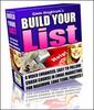 Thumbnail Build Your List Video Tutorial