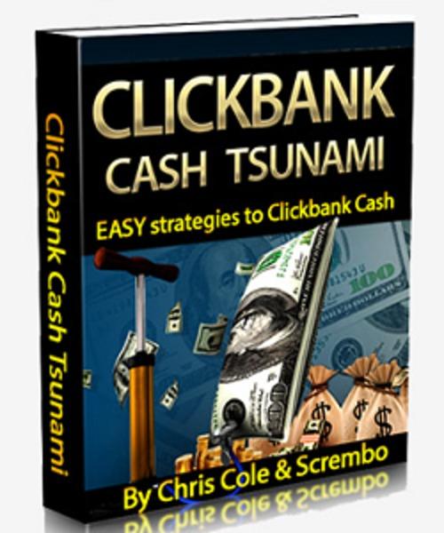 Pay for Clickbank Cash Tsunami