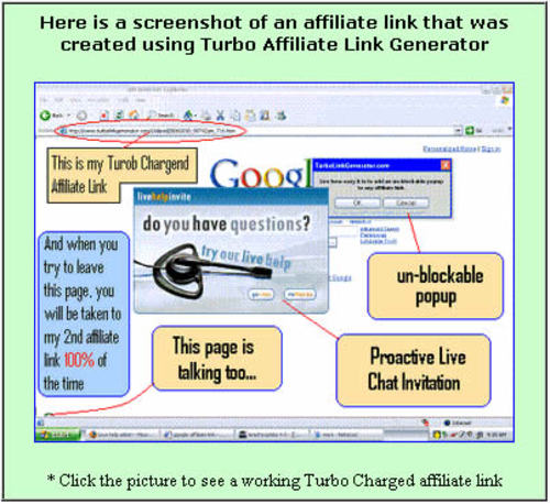 Pay for Turbo Affiliate Links Generator