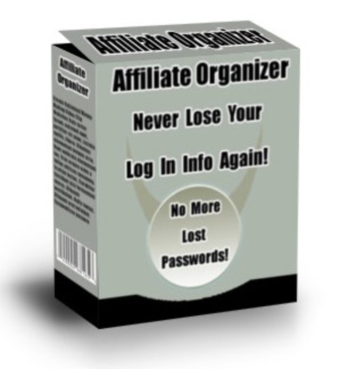 Pay for Affiliate Oragnizer Software