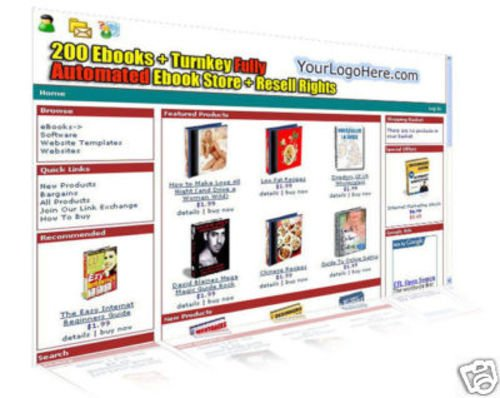 Pay for Turnkey Fully Automated eBooks Store Package 6