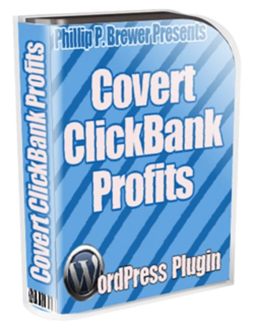 Pay for Covert Click Bank Profit WordPress Plugin