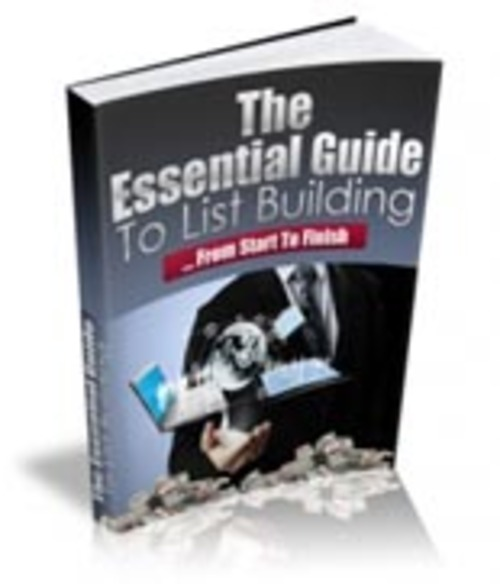 Pay for Essential Guide to List Building
