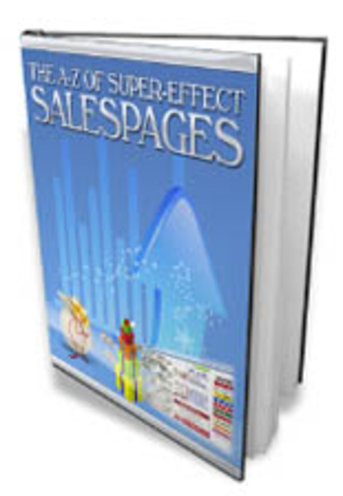 Pay for A to Z Effective Sales Page