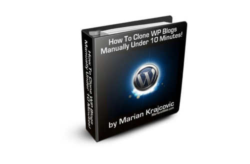 Pay for Clone Your WordPress Blog