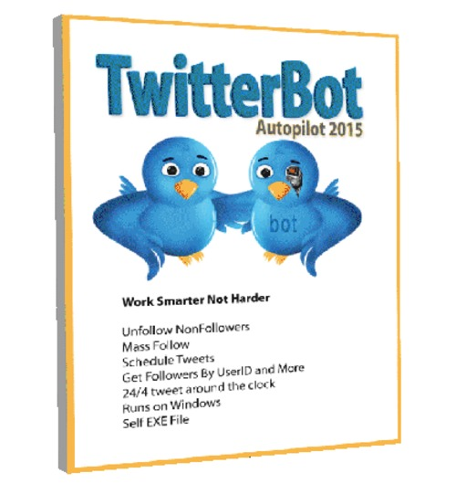 Pay for TwitterBot 2015 Automated twitter software -Windows Only exe
