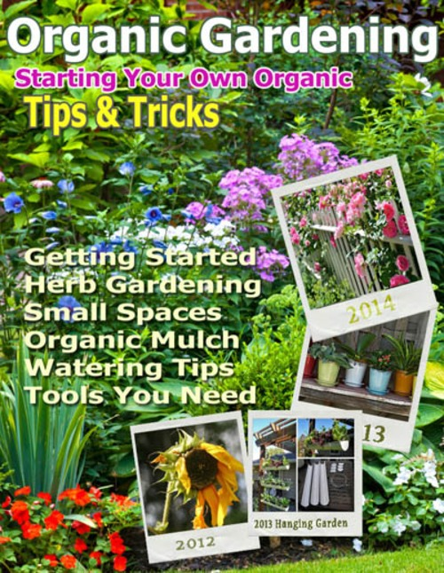 Pay for Organic Gardening Starters Guide Tips & Tricks
