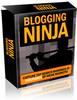 Thumbnail Blogging Ninja with Master Resell Rights