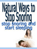 Thumbnail Natural Ways To Stop Snoring