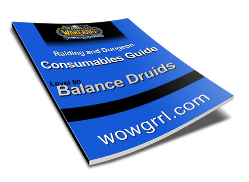 Pay for World of Warcraft - Level 80 Balance Druid Consumables Guide