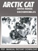 Thumbnail 2004 Arctic Cat 2-Stroke Snowmobile Service Repair Manual