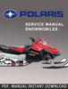 2001 Polaris High Performance Snowmobile Service Manual