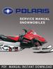 Thumbnail 2005 Polaris Deep Snow  Snowmobile Service Repair Manual