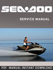 Thumbnail 2008-2009 Seadoo  Personal Watercraft Workshop Manuals