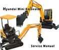 Thumbnail Hyundai Robex 36N-7 R36N-7 Mini Excavator Service Repair Manual Download