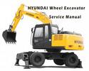 Thumbnail Hyundai R55W-7A Wheel Excavator Service Repair Manual