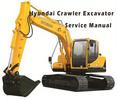 Thumbnail Hyundai R160LC-7A Crawler Excavator Service Repair Manual