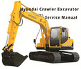 Thumbnail Hyundai R800LC-7 Crawler Excavator Service Repair Manual