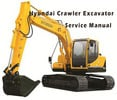 Thumbnail Hyundai R450LC-7 Crawler Excavator Service Repair Manual