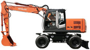 Thumbnail Hitachi Zaxis 210W-3 220W-3  Excavator Service Repair Manual