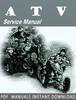 Thumbnail 2012 Arctic Cat DVX 90/90 Utility ATV Service Repair Manual