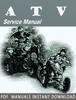 Thumbnail 2012 Arctic Cat 300 Utility / DVX 300 ATV Service Manual