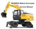 Thumbnail Hyundai Wheeled Excavator R140W-9S Service Repair Manual