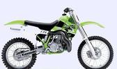 Thumbnail 2003-2004 Kawasaki KX125 KX250 Motorrad Werkstatt-Handbuch