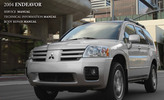 Thumbnail 2004 Mitsubishi Endeavor Service Repair Manual Download