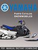 Thumbnail 2010 Yamaha FX10RTRSZ Snowmobile Parts Catalogue