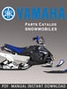 Thumbnail 2008 Yamaha FX10RTRAX Snowmobile Parts Catalogue