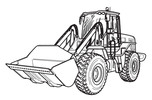 Thumbnail JCB 412S 414S 416S Wheeled Loader Service Repair Manual Download