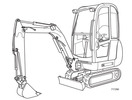 Thumbnail JCB 8013 8015 8017 8018 801 Gravemaster Mini Excavator Service Repair Manual Download