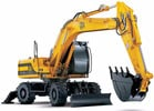 Thumbnail JCB JS130W JS150W Wheeled Excavator Service Repair Manual Download