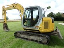 Thumbnail New Holland E80MSR Midi Crawler Excavator Service Repair Manual Download