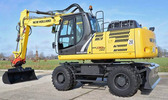 Thumbnail New Holland WE190 - WE230 Industrial Wheeled Excavators Service Repair Workshop Manual Download